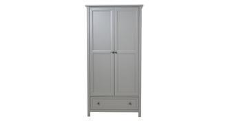 Marina 2 Door Combination Wardrobe