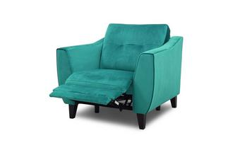 Velvet Power Recliner Chair
