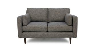 Marl Fabric Weave Fabric 2 Seater Sofa