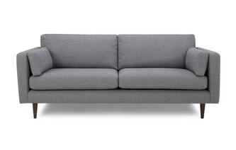 4 Seater Sofa Marl Plain