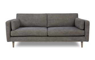 Weave Fabric 4 Seater Sofa