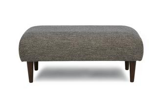 Weave Fabric Large Bench Footstool Marl Weave