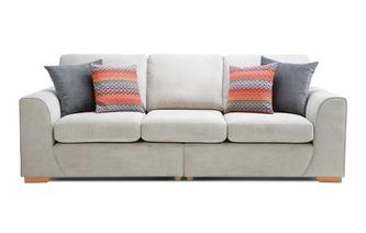 4 Seater Split Sofa Plaza