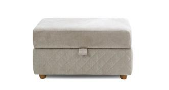 Marquee Large Storage Footstool