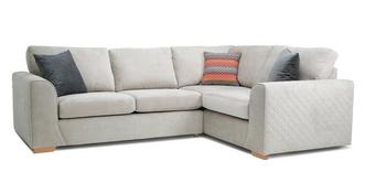 Marquee Left Hand Facing 2 Seater Corner Sofa