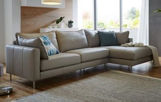 Mazzini Right Hand Facing Chaise End Sofa Peru