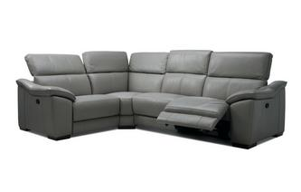 Option J Right Hand Facing 1 Corner 2 Manual Double Recliner