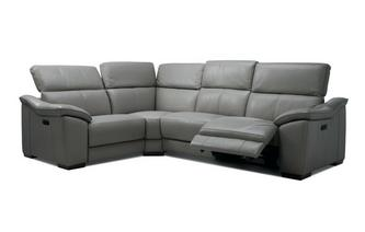 Option L Right Hand Facing 1 Corner 2 Power Plus Double Recliner