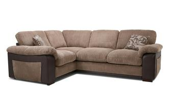 Formal Back Right Hand Facing  Deluxe Corner Sofa Bed