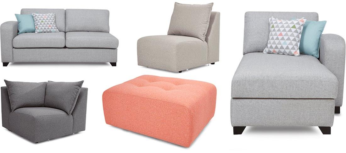 DFS modular sofa selection