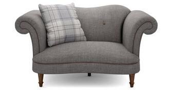 Moray Plain Cuddler Sofa