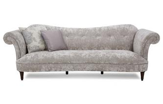 Velvet 4 Seater Sofa Moray Alternative