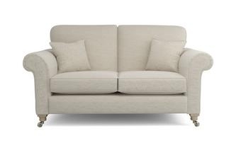 Plain All Over 2 Seater Formal Back Sofa