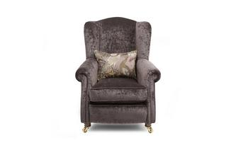 Plain Wing Chair Morris