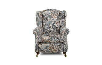 Pattern Wing Chair