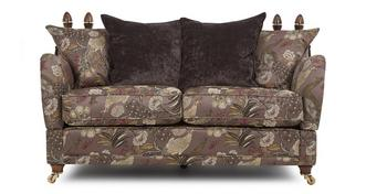 Morris 2 Seater Pattern Pillow Back Sofa