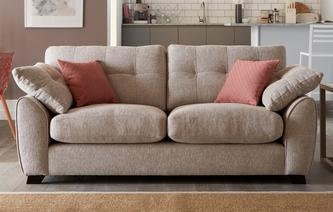 Morton 3 Seater Sofa KIrkby Plain