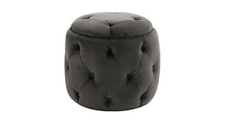 Narnia Small Button Footstool