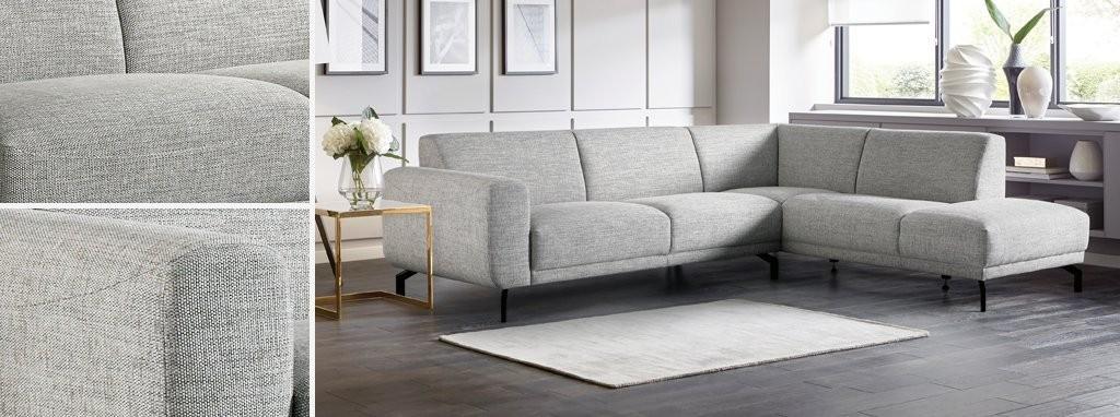 Natasja: LHF 3 Piece Corner Sofa (2 + C + 1)