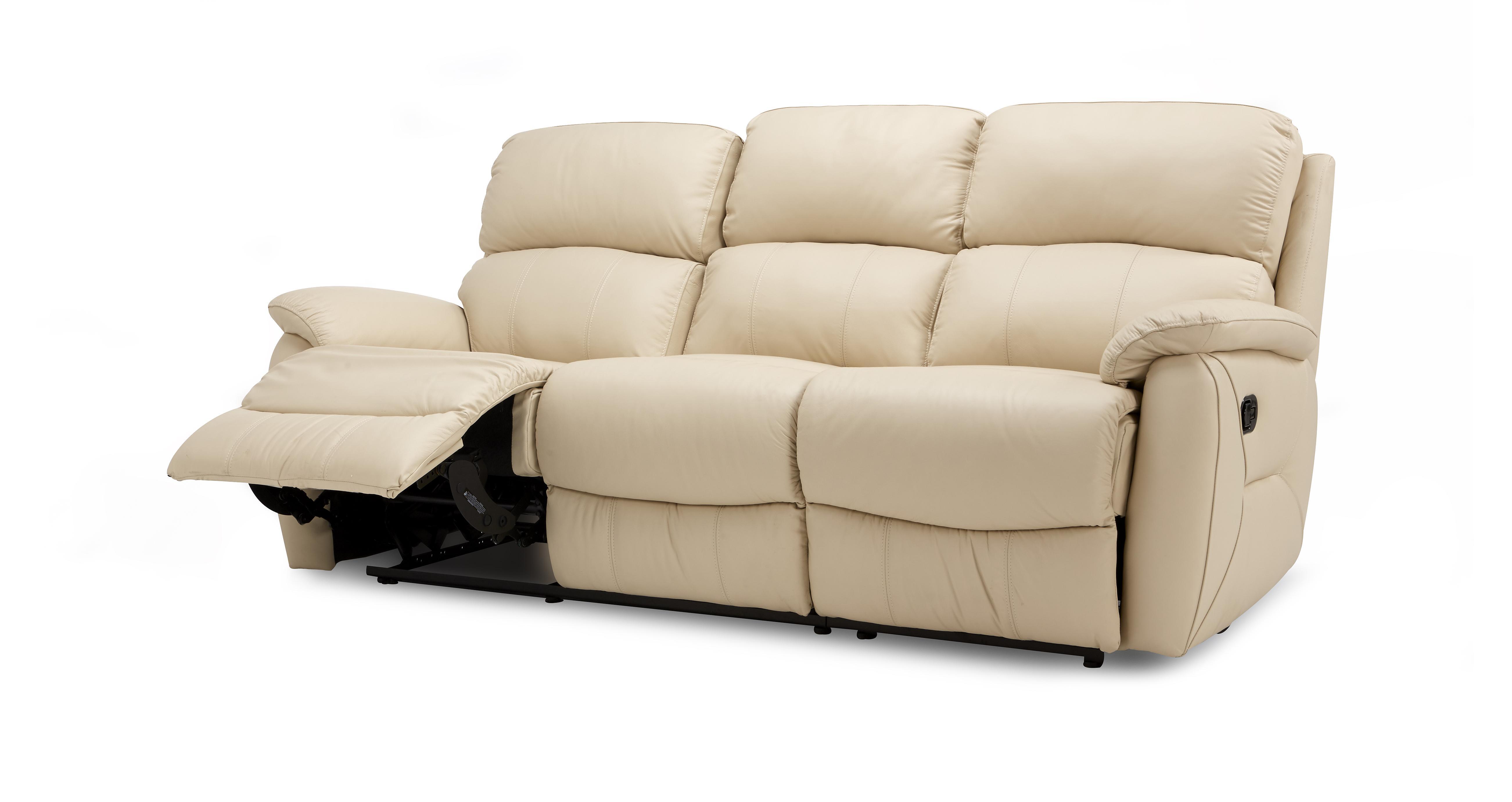 Astounding Navona 3 Seater Manual Recliner Inzonedesignstudio Interior Chair Design Inzonedesignstudiocom