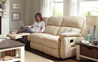 Navona 3 Seater Manual Recliner Peru