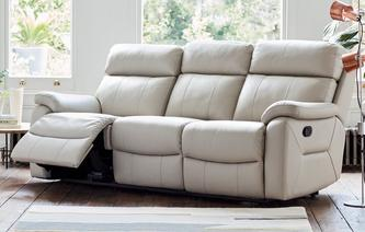 New Navona 3 Seater Manual Recliner Peru
