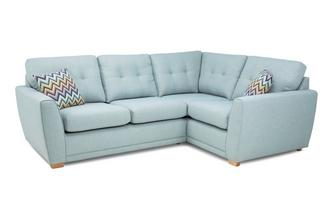 Left Hand Facing 2 Piece Corner Sofa