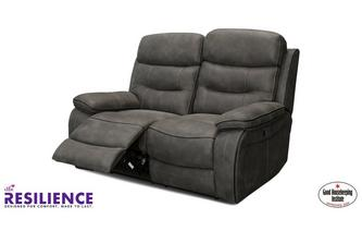Fabric 2 Seater Manual Recliner Sofa