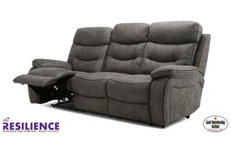 Fabric 3 Seater Power Recliner Sofa
