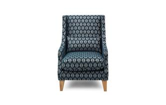 Pattern Accent Chair 1 Bolster