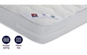 Optimum 2000 Mattress Double (4 ft 6) Mattress Optimum