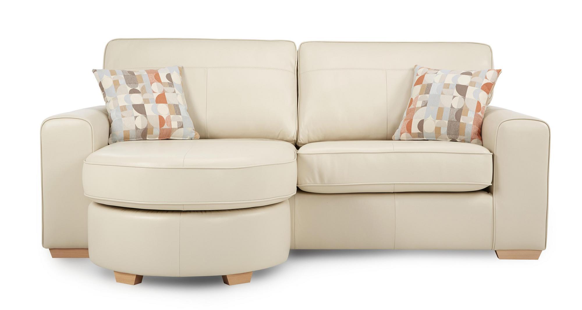 Otis Leather Sofa Set Inc 4 Seater Large Swivel Chair