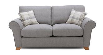 Owen Formal Back 2 Seater Sofa Bed