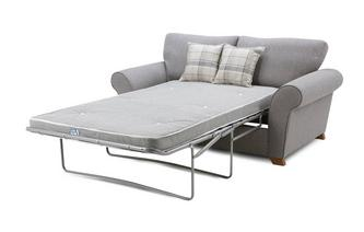 Formal Back 2 Seater Deluxe Sofa Bed Owen