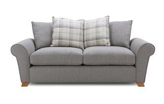 Pillow Back 3 Seater Sofa Owen