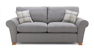 Owen Formal Back 3 Seater Sofa Bed