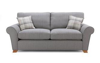 Formal Back 3 Seater Sofa Bed Owen