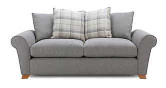 Owen Pillow Back 3 Seater Sofa Bed
