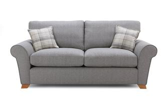 Formal Back 3 Seater Deluxe Sofa Bed Owen