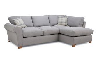 Formal Back Left Hand Facing Arm Corner Sofa Owen