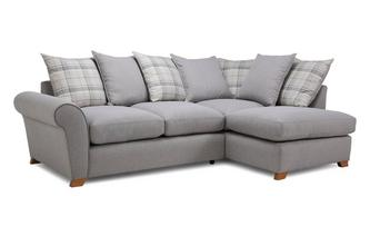 Pillow Back Left Hand Facing Arm Corner Sofa Owen