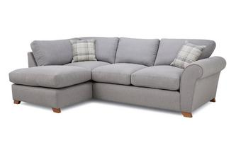 Formal Back Right Hand Facing Arm Corner Sofa