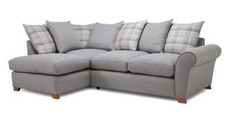 Owen Pillow Back Right Hand Facing Arm Corner Sofa