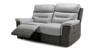 Ozark: 2 Seater Manual Recliner Sofa