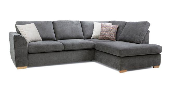 Pacha Left Hand Facing Arm Open End Corner Sofa Sherbet Dfs Spain