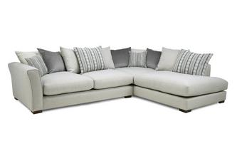 Pillow Back Left Hand Facing Arm Large Corner