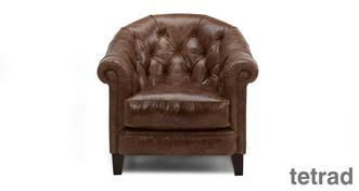 Palace Leather Accent Chair