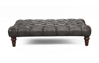 Leather Rectangular Footstools