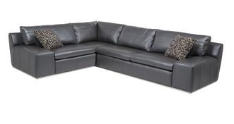 Palladium Option D Right Hand Facing 2 Seater Corner Sofa