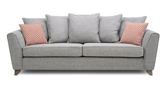 Pateley Pillow Back 4 Seater Sofa